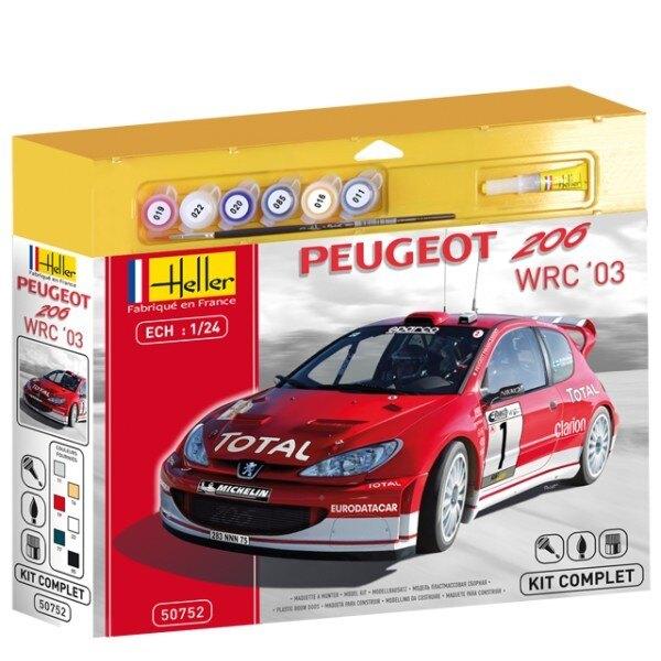 Peugeot 206 wrc 2003 kit 6