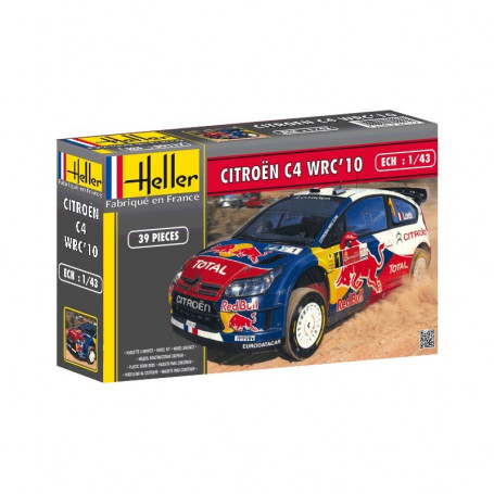 Citroën c4 wrc 2010 1:43