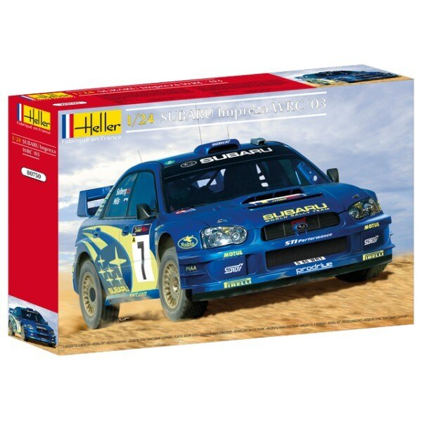 Subaru Impreza WRC 2003 1:24