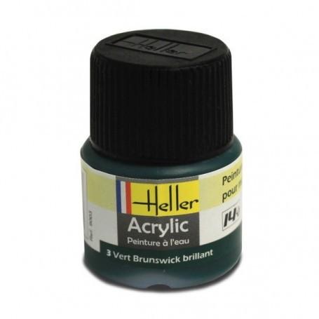 Braunswick grün Acryl, glänzend, glänzend, 12ml