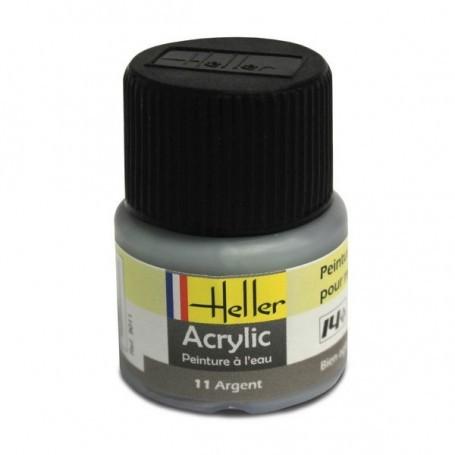 Silber Acryl, 12ml