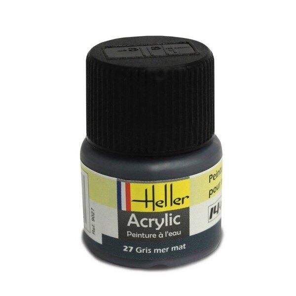 See Grau Mat Acryl, 12ml