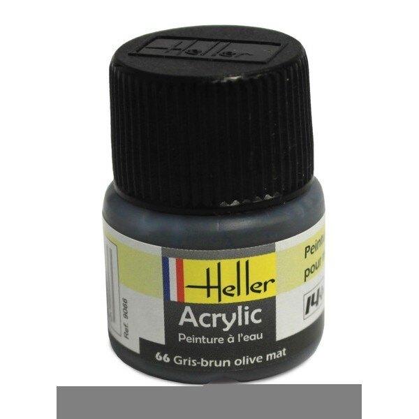 Grau Braun Olive Acryl, 12ml