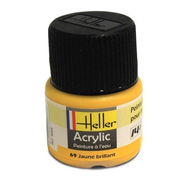 Gelbe Acryl, glänzend, glänzend, 12ml