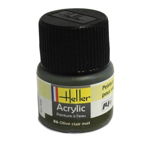 Klares Acryl Olivenöl Mat, 12ml