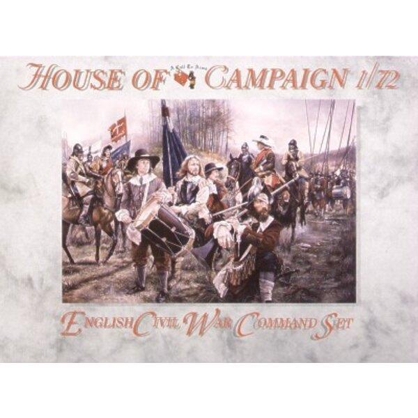 Englischer Bürgerkrieg-Befehlssatz
