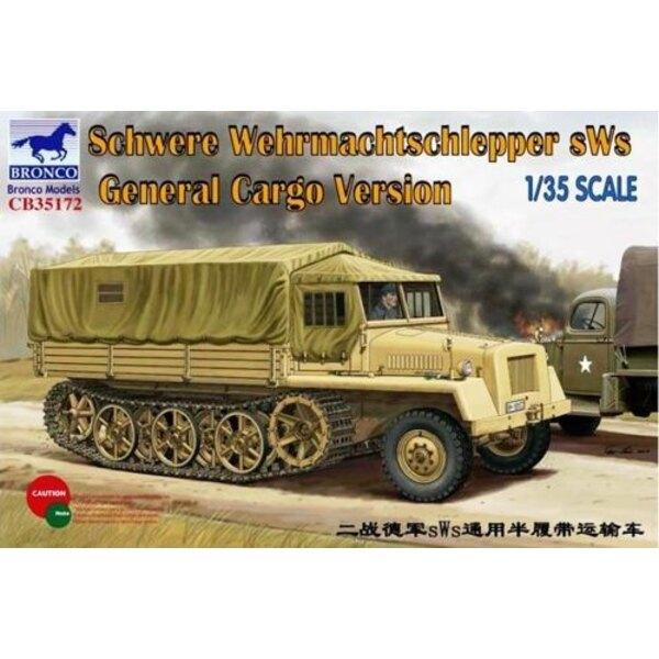 Schwere Wehrmachtschlepper sWs General Cargo Version