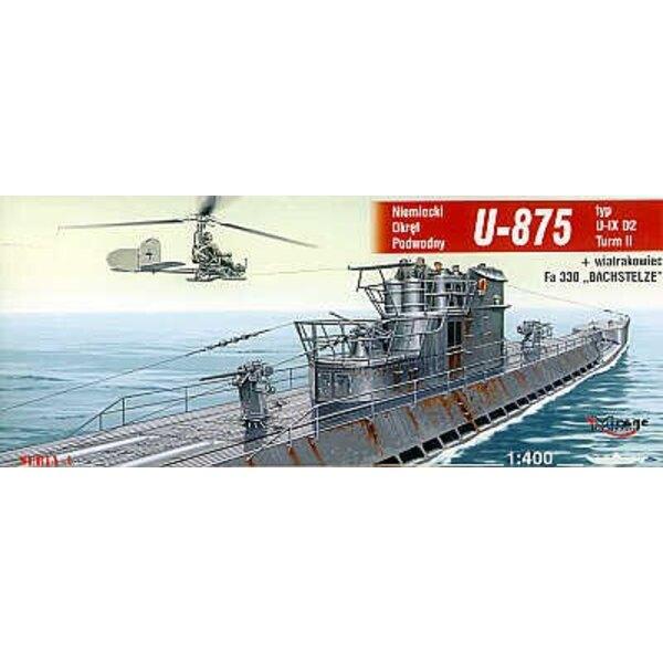 U -875 Typ IX D2 Turm II U-Boot
