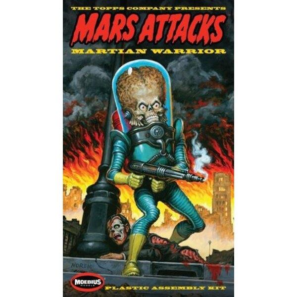 Mars- Krieger Abbildung Model Kit Mars Attacks