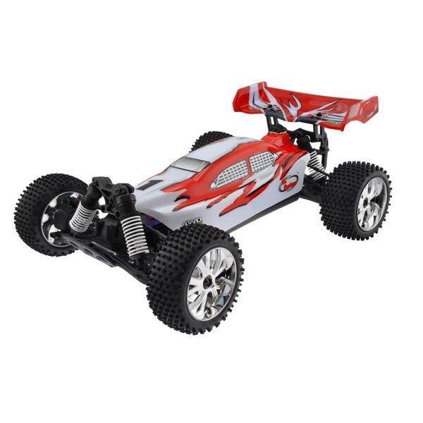 CAR BUGGY 1/10 Brushless RTR 4x4 (VARIO MOTOR + RADIO + 2,4 + AQ + CHAR)
