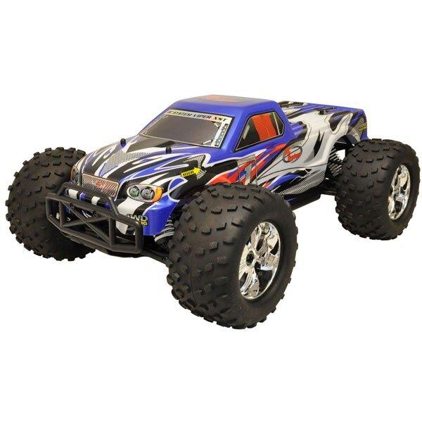 CAR TRUCK 1/10 Brushless RTR 4x4 (VARIO MOTOR + RADIO + 2,4 + AQ + CHAR)