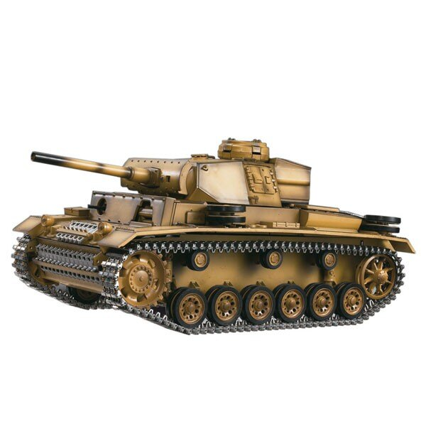 CHAR RC2.4GHZ 1/16 PANTHER III METAL + (SOUND / RAUCH)