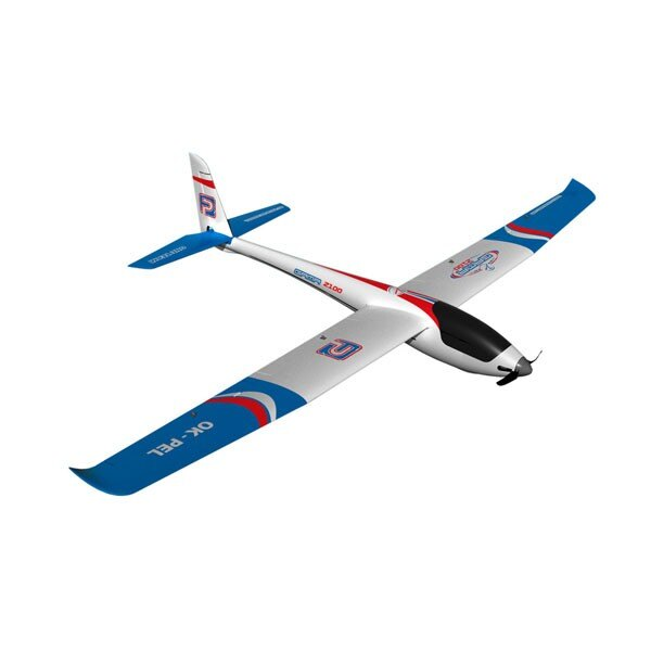 Segelflugzeug GAMA 2100 BRUSHLESS W / Klappen (Motor-Controller, 6 SERVO)