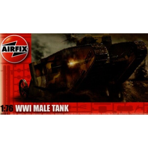 1.WK Britisches Panzer Male Mk.I