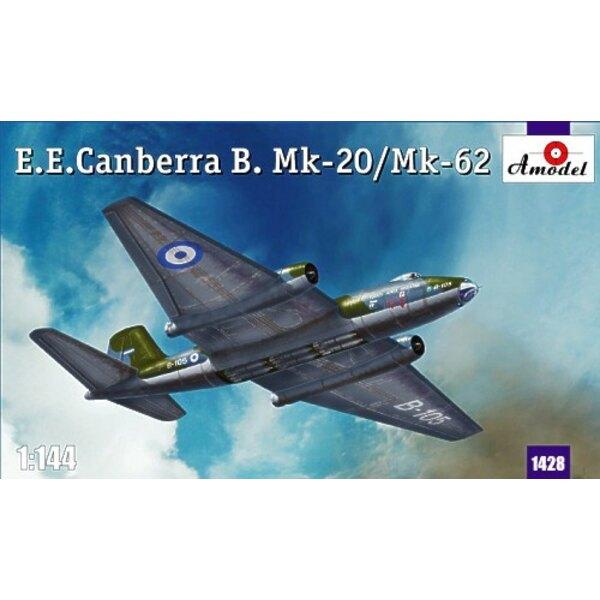 BAC/EE Canberra Mk.20/Mk.62. Abziehbilder Brigada Aerea Argentina B-105 (tarnte) Royal Australian Air Force Südliche Vietnam 19