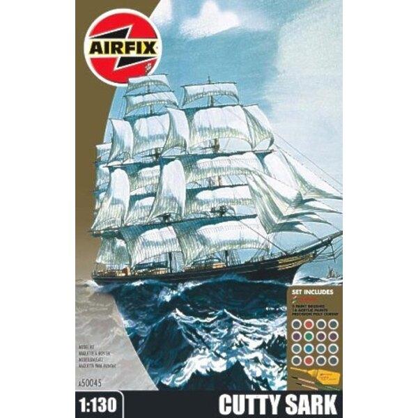 Cutty Sark (Geschenk oder Starter-Set mit Farben, Pinsel und Kleber)