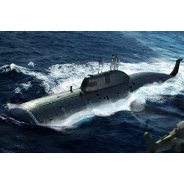 Russian Navy SSN Akula klasseangriffsunterseeboot