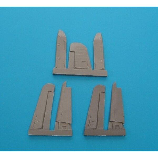 Vought F4U-1 Corsair getrennter control surfaces (für Bausätze von Tamiya)