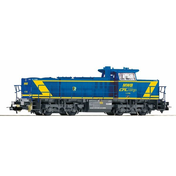 LOCOMOTIVE G1206 D MWB 2106 CFL