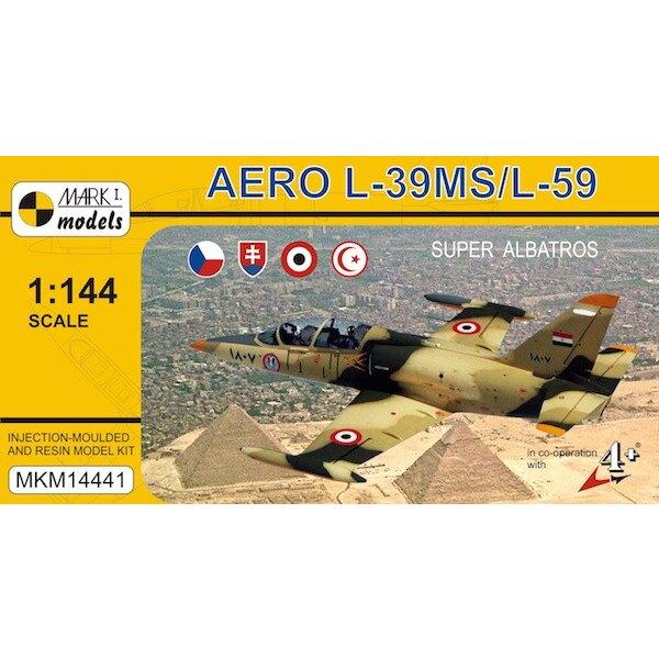 Aero L-39MS / L-59 Super-Albatros Im Gegensatz zu unseren früheren Aero L-39-Sets, verfügt dieses Modell über Harz Körperteile (