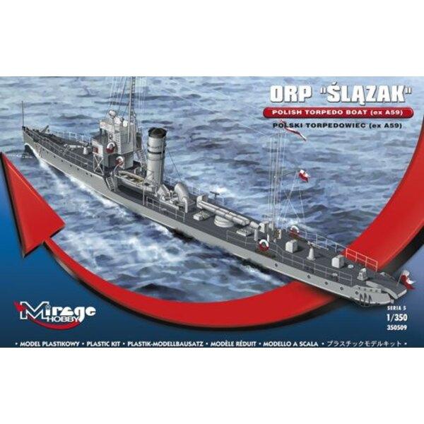 ORP Slazak - polski torpedowiec (zB A59)