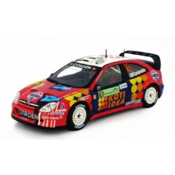 CITROEN XSARA WRC 16 GARDEMEISTER/HONKANEN ACROPOLIS 2006 (EPUISE)
