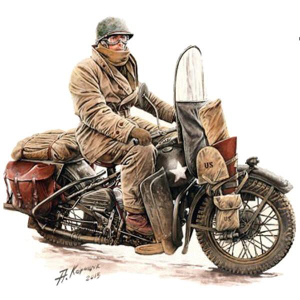 US-Motorrad-Fahrer +