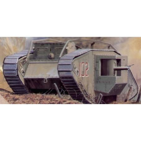 Mk.IV Male 1.WK heavy tank Decals: British/deutsch