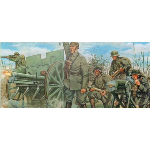 1.WK Deutscher Kanone 76mm