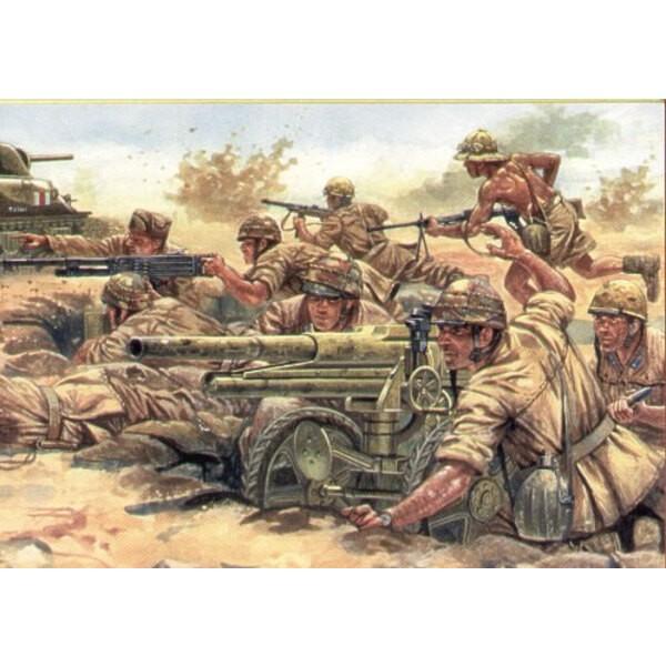 2WK-Italiener Leichte Artillerie