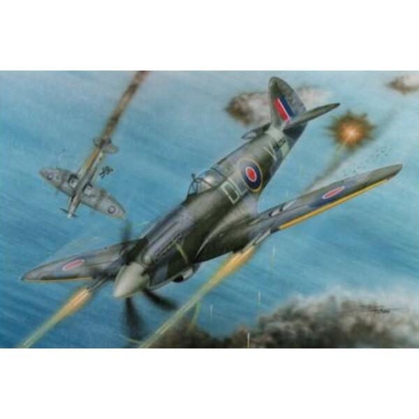 """Supermarine Spitfire F Mk.21 """"No.91 Sq. RAF im Zweiten Weltkrieg """""""