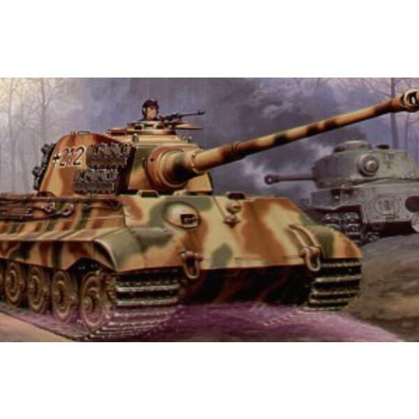 König von Pz.Kpfw.VI Tiger II mit Produktionstürmchen