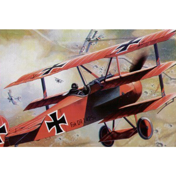 Fokker Dr I Dreidecker (Neue Bearbeitung!)