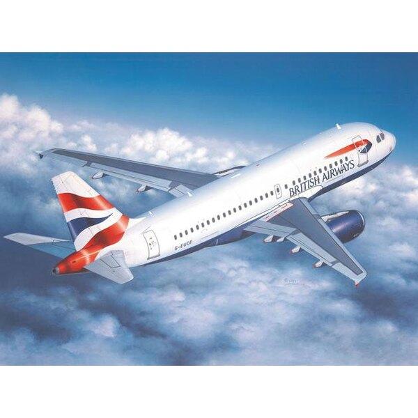 """Airbus A319. Inclut une autre excellente planche de décalques de Danny """"DACO"""" Coreman pour n'importe quel avion de British Airwa"""