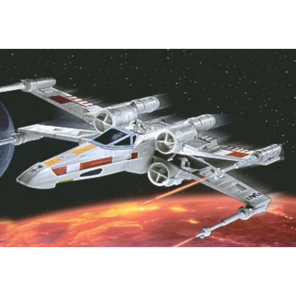 X-wing Fighter (Luke Skywalker) (easykit series snap together)