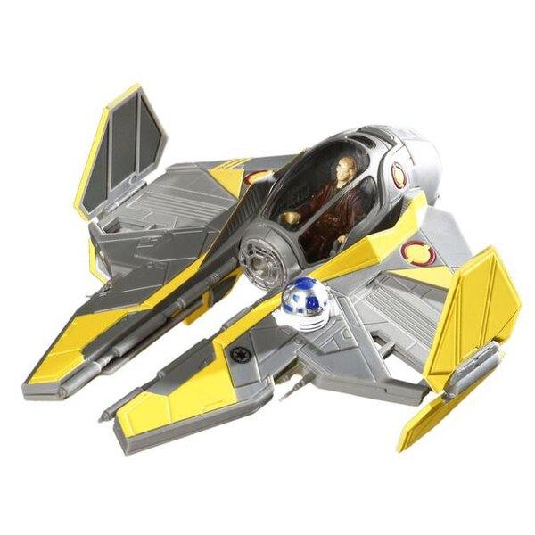 Anakin's Jedi Starfighter Fully Painted Snap Model Kit!.