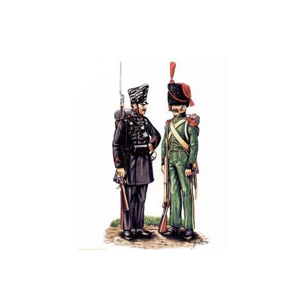 Lutzow Freikorps und Nassau Grenadiere