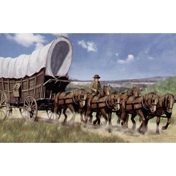 Wagen der Kolonisten Conestoga