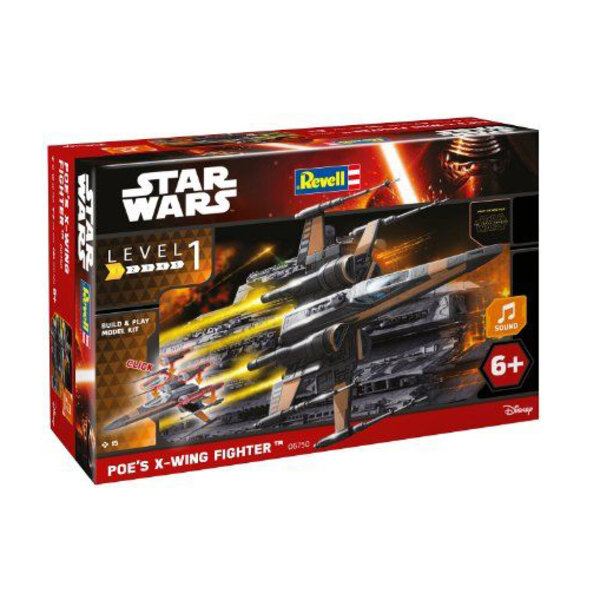 Poes X-Wing Fighter (TM) Bauen & Play-Leuchten / Sound Series