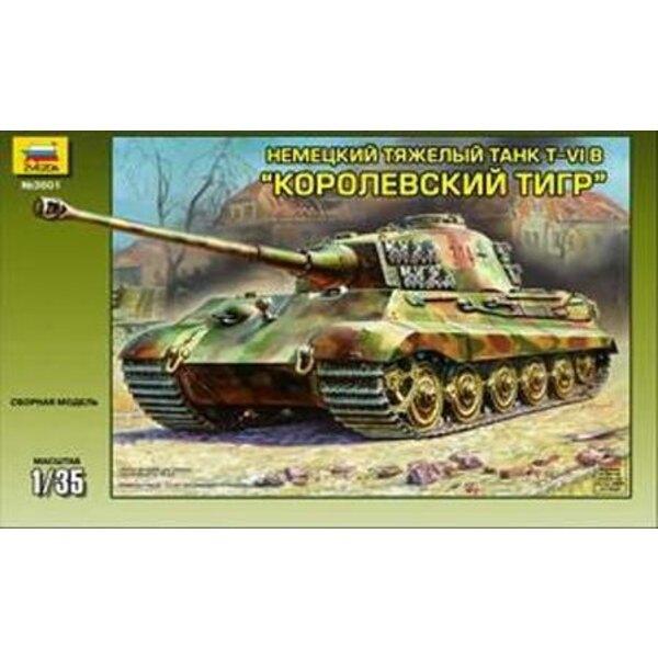 Königstiger mit Henschel Turret Ausf.B
