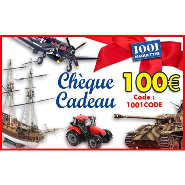 Chèque cadeau 100 euros