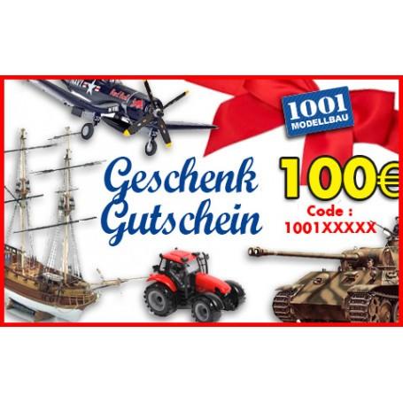 100 EUR Geschenk Gutschein