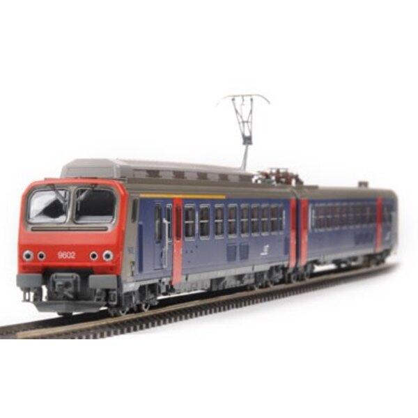 Z9602 angetrieben seine SNCF