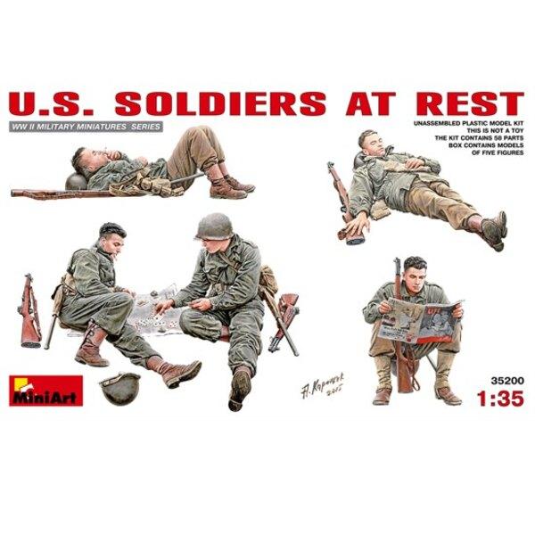 US-Soldaten in Ruhe
