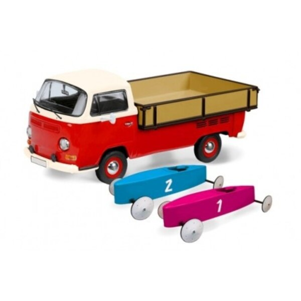 VW T2A PICK-UP MIT 2 -Boxen SOAP