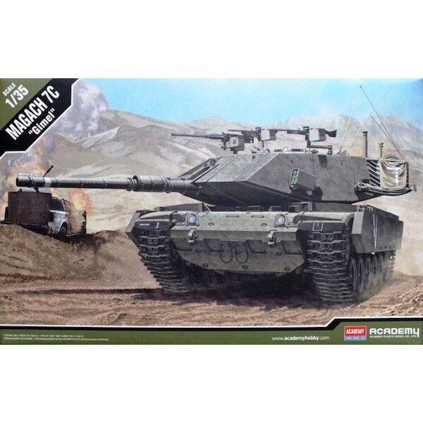 Magach 7C Modernisierter israelischen Armee Tank (Variante des M60) und Kugel -. Neue Türmchen, große externe Speicherkorb, pass