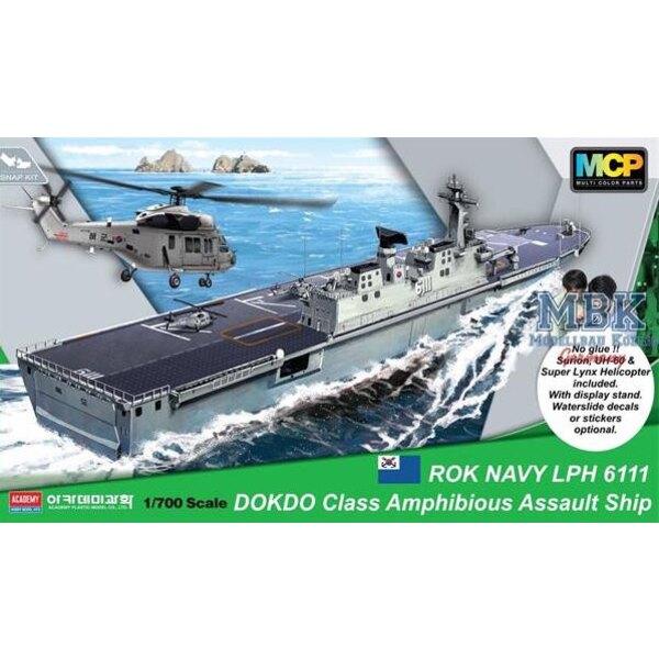 ROKS Dokdo (LPH-6111) Amphibious Assault ShipmDokdo Klasse Landing Platform Hubschrauber