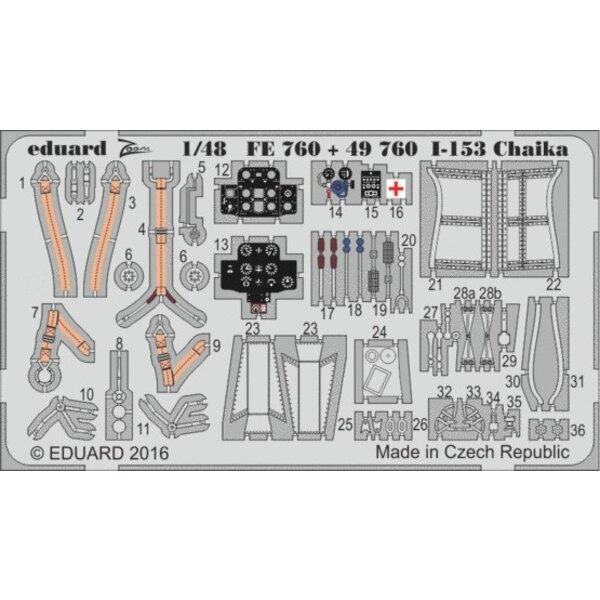 Polikarpov I-153 Tschaika (entworfen mit ICM-Kits verwendet werden) 'Zoom' Sets sind vereinfachte Versionen der größeren Sets un