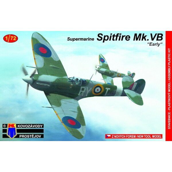 Super Spitfire Mk.Vb Early Tschechoslowakei Sq. in RAF (neue Tooling)