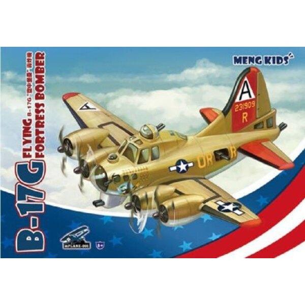 Boeing B-17G Flying Fortress Bomber.Meng Modell für Kinder Karikatur-Serie